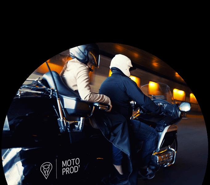 Des motos taxis expérimentés