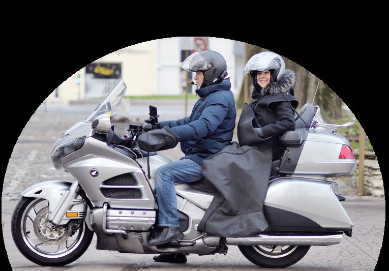 Moto Prod', votre chauffeur moto dans Paris