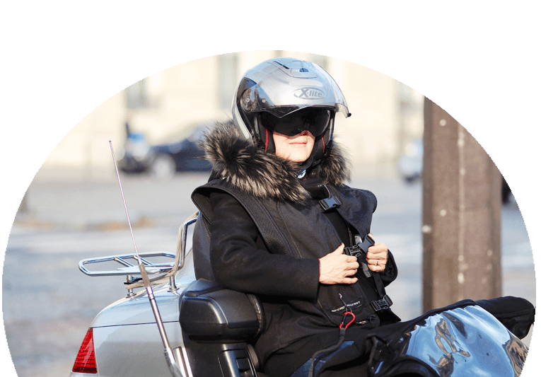 Gilet Airbag moto